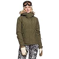 Roxy Jet Ski-Chaqueta para Nieve para Mujer, Ivy Green, L