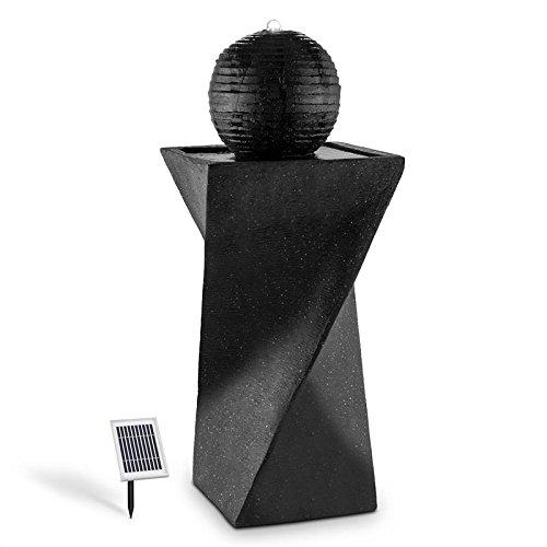 Duramaxx blumfeldt fontana a sfera (per interni ed esterni, con pannello solare, illuminazione led, fino a 8 ore di funzionamento autonomo)
