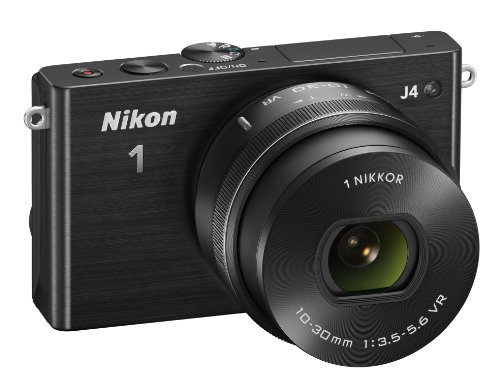 Nikon 1 J4 Systemkamera (18 Megapixel, 7,5 cm (3 Zoll) LCD-Display, Full HD Videofunktion) Kit inkl. 10-30mm PD-Zoom Objektiv schwarz - 3