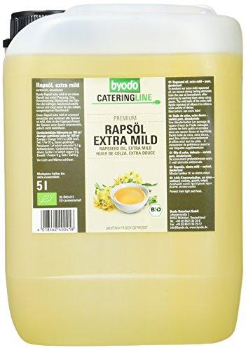 Byodo Rapsöl, extra mild, 1er Pack (1 x 5 l) - Bio