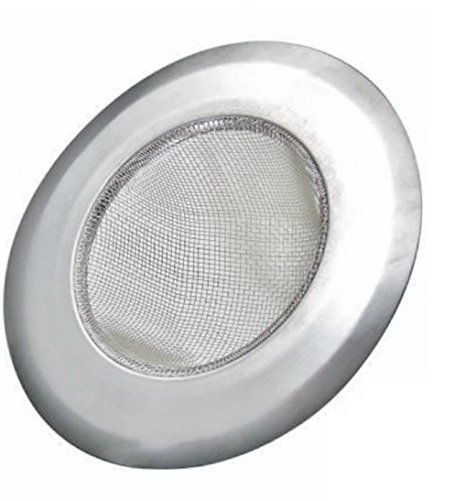 Acciaio inossidabile Mesh Sink Strainer Drain Schermo, lavabile in lavastoviglie e Previene Zoccoli Taglia unica universale da 2