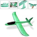 Flying Glider Foam Airplane (Green)
