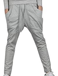 Tangda Herren Harem Hose Baggy Jogging Hip Hop Haremshose Herbst Tanzhose Sporthose Sweat Pants (Größe/Farbe wählbar)