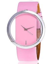 Darringls_Reloj,Reloj de Madera para Mujer Cuarzo Japonés y con la Correa de Cuero Genuino