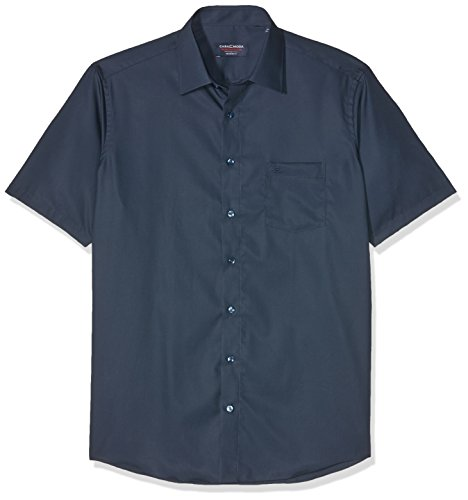 CASAMODA Herren Businesshemd Blau (Blau 109)