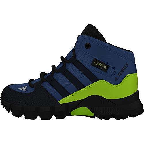 adidas Unisex-Kinder Terrex Mid GTX I Trekking- & Wanderstiefel Blau (Azretr/Maruni/Limsol 000) 24 EU
