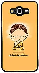 PrintVisa Quotes Buddha Religious Case Cover for Samsung Galaxy Grand Max (Multicolour)