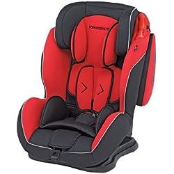 Foppapedretti Dinamyk 9-36 Seggiolino Auto, Gruppo 1/2/3 (9-36kg), per Bambini da 9 mesi fino a 12 Anni circa, Rosso