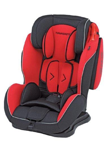 Foppapedretti dinamyk 9-36 seggiolino auto per bambini di 9-36 kg, rosso