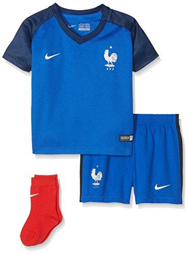 Nike Kinder Frankreich Babykit Home EM 2016 Kleinkinder Teamtrikot, Blau/Dunkelblau, 86 (12-18 Monate)