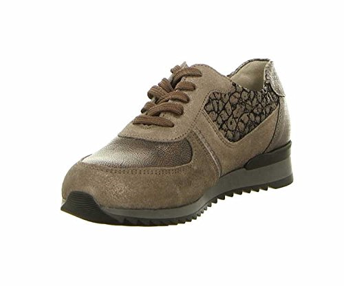 WALDLÄUFER HURLY 370004/400001 femmes Chaussures à lacets Metall