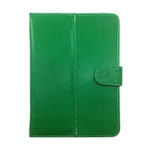 Garmor Flip cover For Micromax Canvas P290 - 7 inch Tablet (Green)