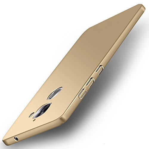 WOW-ImagineTM-All-Sides-Protection-360-Degree-Sleek-Rubberised-Matte-Hard-Case-Back-Cover-For-Le-MAX-2-Champagne-Gold