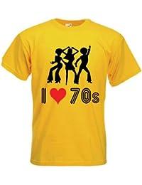 I Love The 70s T-Shirt (choice of colour)