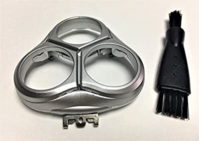 New Shaver Razor Head Holder Frame Cover for Philips Norelco SmartTouch-XL HQ9100 HQ9140 HQ9150 HQ9160 HQ9161 HQ9170 HQ9171 HQ9190 HQ9195 HQ9199 Shaving Replacement Parts Silver by generic