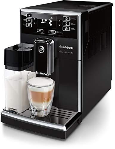 Saeco PicoBaristo HD8925/01 Kaffeevollautomat (220 W, integriertes Milchsystem) schwarz (Generalüberholt)