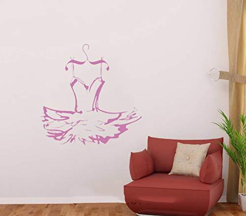 Feuerwehrmann Günstige Kostüm - wandaufkleber 3d Kleid Ballerina Wall Dance Kostüm Decal Sticker Decor Home für Mädchen Schlafzimmer bilden Raum