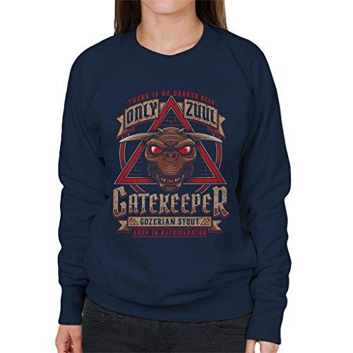Ghostbusters Gozer Ale Women's Sweatshirt Navy blue