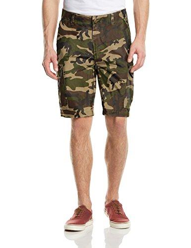 Dickies Herren Shorts New York, Mehrfarbig (Camouflage), W36 (Baumwolle Camouflage Shorts)