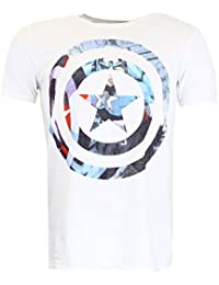 Marvel Comics Captain America Knock-out T-shirt Official Licensed Movie