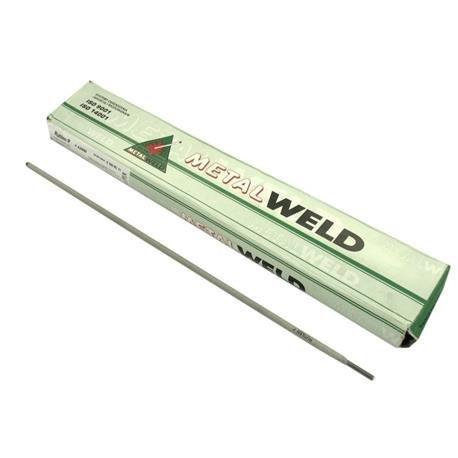 ELECTRODO DE ALTA EFICIENCIA METALWELD RUTILENP 2 50 / 350 / 1KG DE COLOR ROSA