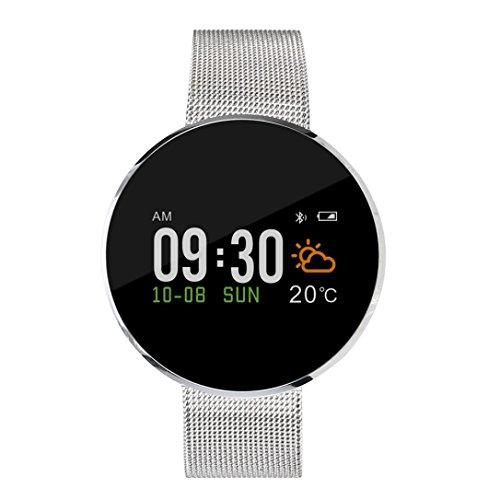 Prevently Unisex Bluetooth Smartwatch Fitness Uhr Intelligente Armbanduhr Fitness S12 Motion Recording Bewegung