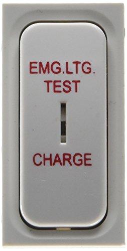 Eaton f9027el Premera Mix Schlüssel Doppel Pole Notfall Beleuchtung Test Charge, Kunststoff, weiß, 20A (Harmonie-test)