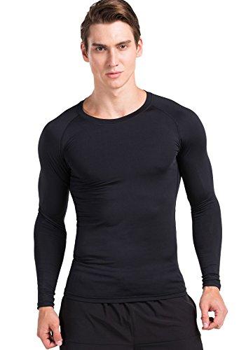 red-plume-hombres-de-manga-larga-sport-gym-thin-top-para-hombres-originals-slim-shirts-training-tigh