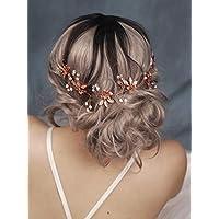 Amazon.it  Rose Per Capelli - Cerchietti e fasce per capelli ... 268a0b8536af
