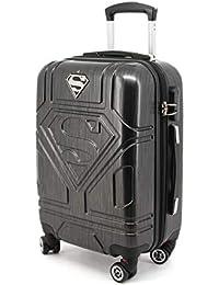 Superman S-ABS Trolley-Koffer (Klein) Bagage Cabine, 35.5 liters, Gris
