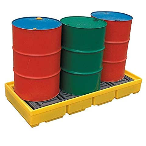 3 Drum Spill Pallet 228 Litres Sump Capacity