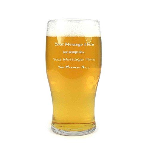 Arcoroc Personalisierte Pint Bier-Glas / Gläser / Barbedarf CE 20 Unzen / 568ml (Personalisierte Gläser Bier)