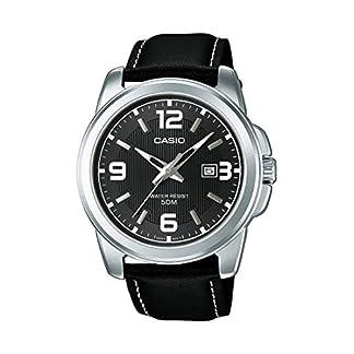 Casio Reloj Analógico para Hombre de Cuarzo con Correa en Cuero MTP-1314PL-8AVEF