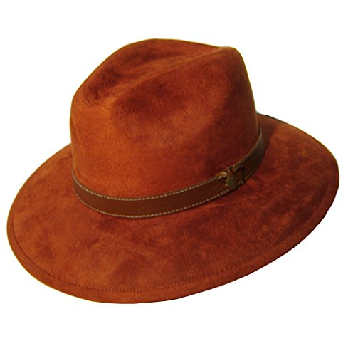 modestone-unisex-felt-feel-akubra-cappello-cowboy-red