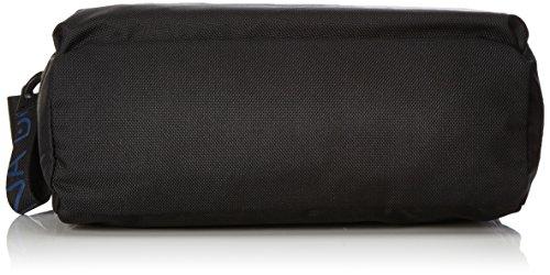 Mandarina Duck Damen Md20 Tracolla Schultertasche, 10x21x28.5 cm Schwarz (Black)