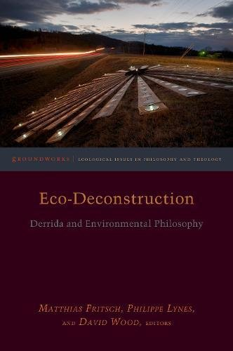 Eco-deconstruction: Derrida and Environmental Philosophy (Groundworks: Ecological Issues in Philosophy and Theology)