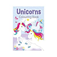Alligator Books Unicorns Colouring Book