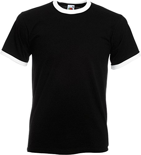 Fruit of the Loom Herren T-Shirt Weiß