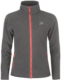 Karrimor Womens Ladies Fleece Jacket Long Sleeve Zip High Collar Pockets