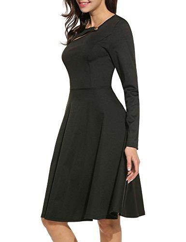 Kleid knielang herbst