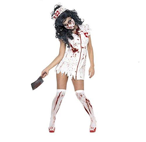 Zombie-Krankenschwester-Kostüm Halloween (Krankenschwester Kostüme Kostenlos)