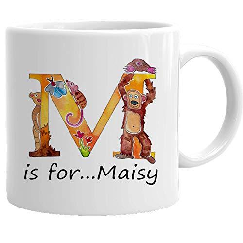 onalisierbar Cup, Baby Geschenk, Taufe Geschenk, Animal Alphabet Name auf eine Tasse Kleinkinder, Tasse, personalisierbar, Geschenk. ()