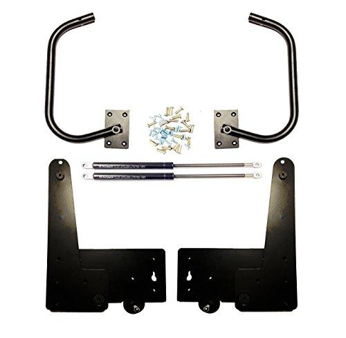 Preisvergleich Produktbild Streben Depot Murphy Vertikal 1500 N Wand Bett Mechanismus Hardware-Kit und Beine,  King Size