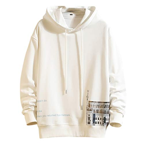 HHyyq Pullover Herren Winte Jacke Coat Reifen Sweater Bequeme Klassisch Tops Regular Fit Outwear Blouse Patchwork Kleidung Bluse Tunnelzug T-Shirt Rundhalsausschnitt Sweatershirt Mantel