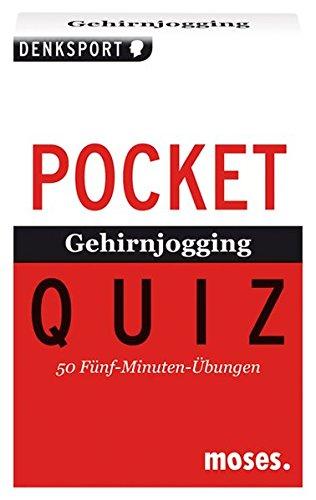 Gehirnjogging. Pocket Quiz: 50 Fünf-Minuten-Übungen. Für Erwachsene