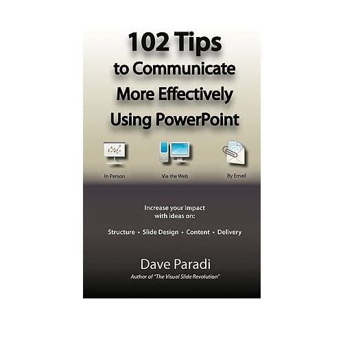 (102 Tips to Communicate More Effectively Using PowerPoint) BY (Paradi, Dave) on 2010