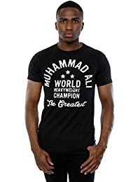 Muhammad Ali Homme Heavyweight Champion T-Shirt X-Large Noir