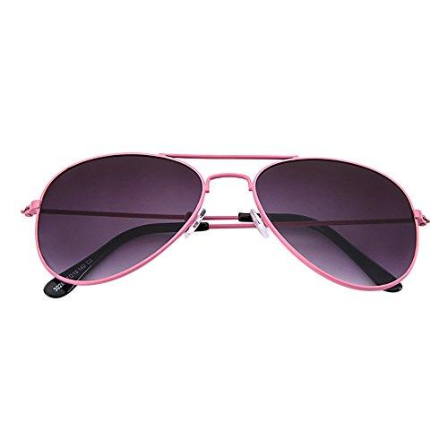 Battnot☀ Sonnenbrille für Kinder Kids Jungen Mädchen, Pilotenbrille Polarisiert Unisex Vintage Mode Shades Anti-UV UV400 Gläser Sonnenbrillen Schutzbrillen Retro Billig Sunglasses Trendy Eyewear