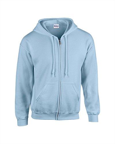 Gildan Kids Full Zip Hoodie von Continental Clothing - Black - XS - Continental Zip