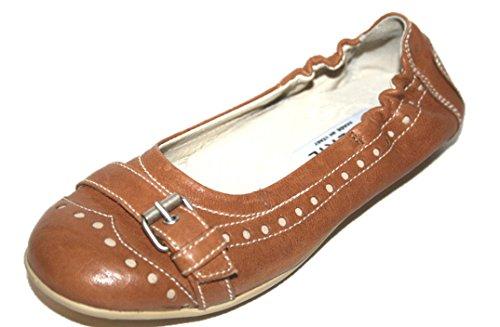 Cherie Kinder Schuhe Mädchen Ballerinas 8433 (ohne Karton) Braun